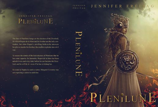 PLENILUNE / BOOK COVER by Carlos-Quevedo
