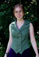 Steampunk Waistcoat - Front by Goldenspring