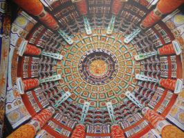 Temple of Heaven Ceiling by fucknsk8rchick