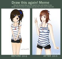 Draw This Again Meme by xMiichi