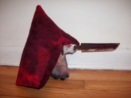 Pyramid Head Plushie by smtemp