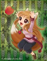 Spice and Wolf - Horo by Katsuke-artwork