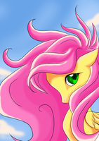 Fluttershy by holyhell111