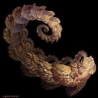 Lost Lizard's Tail by GraphicLia