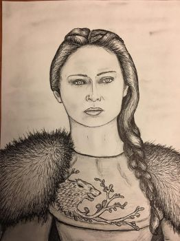 Sansa Stark (Game of Thrones) by conwaysuccess