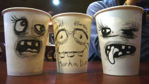Gossiping Cups by eesss
