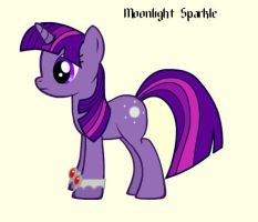 Moonlight Sparkle by Lurks-no-More