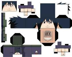 Sasuke Road To Ninja by hollowkingking
