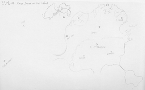 Sketchy Map of the World by tehflah