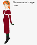 sister Claus: Sammie Claus by art-is-my-bream