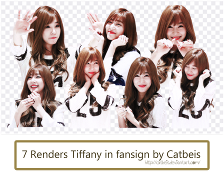 PNG Pack #10: Tiffany Hwang [Catbeis] by Catbeis