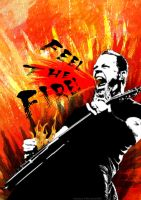 Fire Hetfield by Faerico
