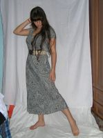 Grey Dress 01 by Kussioth-Stock