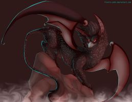 The Dark Lord Descending by francis-john
