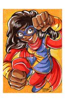 Convention Print - Ms Marvel by DaphneLage