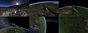 LK 1: Launch and Munar Transfer by Stratocracy