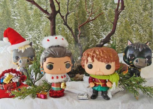 Outlander Custom Pops Claire  Jamie's Christmas by tool8smart