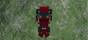 Garbage Droid Top View by mafia279
