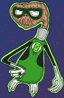 GreenPlanet Lantern by Lordwormm