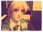 Draco Malfoy cosplay - complete by Tsubaki-chan09