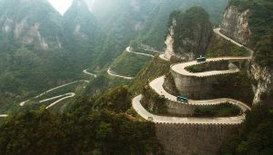 Hilly road by CathyDong