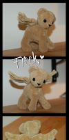Freek mini plushie for SpitfiresOnIce by Rasaliina