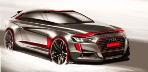 Audi Sketch by FCD94