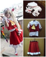 Flandre's costume by hebi-mamecafe