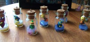 Legend of zelda poe sisters in a jar by chaobreeder16