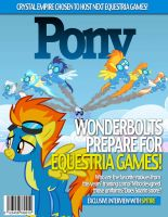 Pony Magazine: Wonderbolts by Dutchess6942
