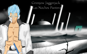 FREE Grimmjow lineart by katiem5259 by stralight2011