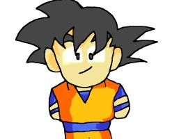 My chibi Goku by ZRandomAnimations