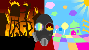 Meet the Pyro- Wallpaper by adrius15