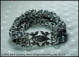 Bike Part Bracelet B128 CM by bikepartjewelry