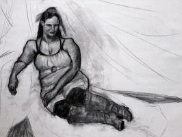 August 9, 2011 Charcoal by hEyJude4