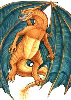 Charizard by MintyMaguire