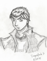 Some guy [pencilwork] by Dragonfunk7