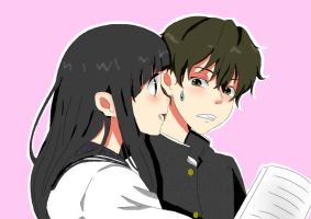 houtarou_and_chitanda by kuuchan12300