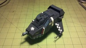 Warhammer 40K - Land speeder tempest by Dented-Rick