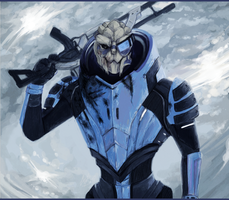ME: Garrus by Weissidian