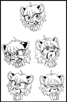 Asha expression study by MetalPandora