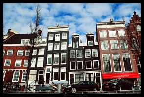 Colourful Amsterdam. by Bunnis