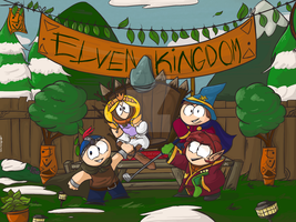 SP:The Elven Kingdom 'Cast Photo' by Wendesaurus