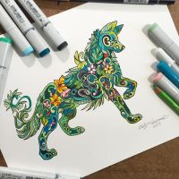 304- Plant Wolf by Lucky978