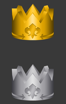 [Model Preview] KH2 Accessories - Rings type 5 by makaihana975