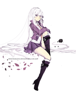 DanganRonpa: Kirigiri by SweetieMoon