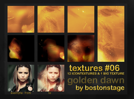 Golden Dawn - Textures 06 by bostonstage
