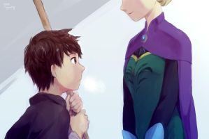 The first time I met the Queen by yaeyeung