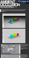 C4D - Ambient Occlusion by dFEVER