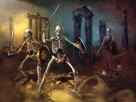 13 Nights of Halloween 2013 Skeleton Army by Grimbro